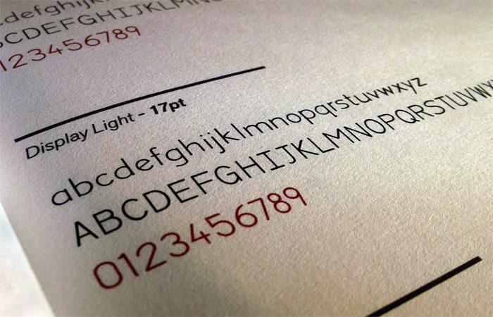 Dyslexia Friendly Typeface: Concept Typeface 1